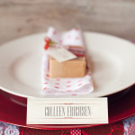 rustic wedding and placecards, victoria, B.C
