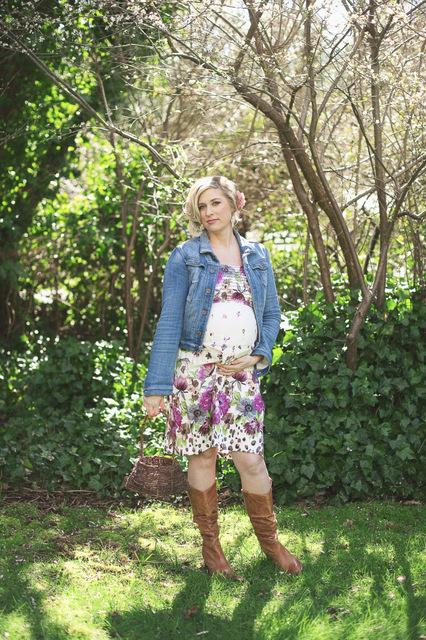 Maternity Chickadee Styled Shoot Trend Decor