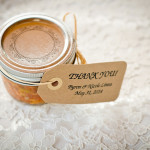 honey rustic wedding favours