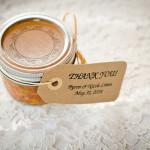 honey rustic wedding favours