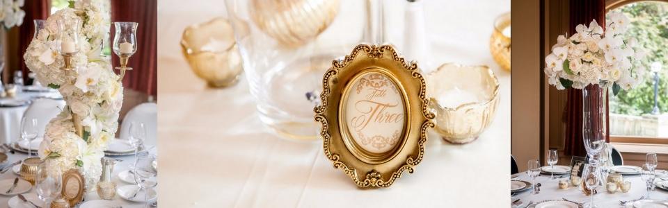 gold vintage classic gold wedding victoria