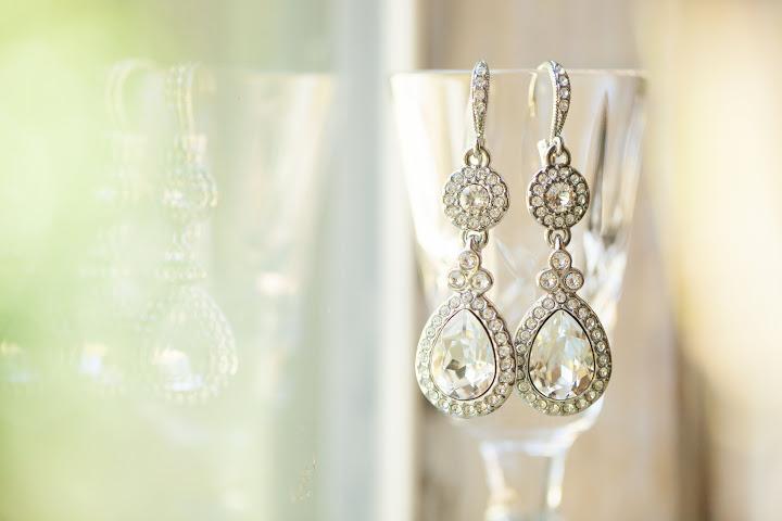 crystal beautiful earrings
