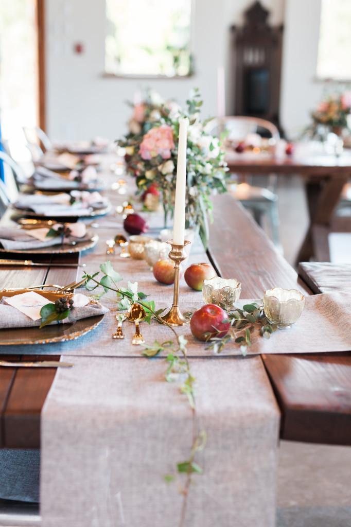ivy garland seacider wedding