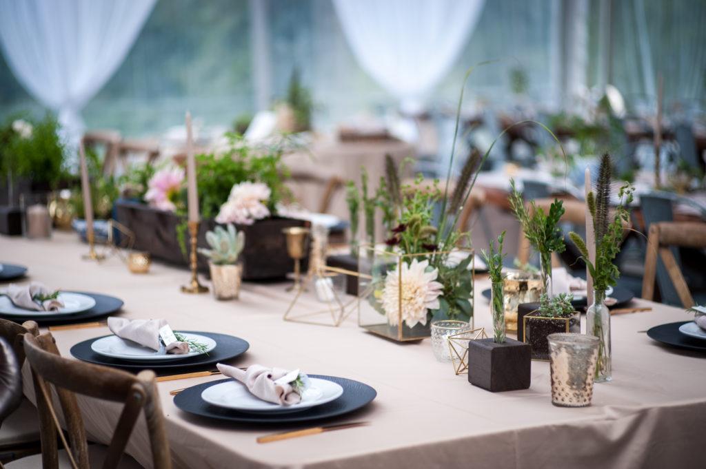 rustic harvest table inspiration seacider wedding himellis